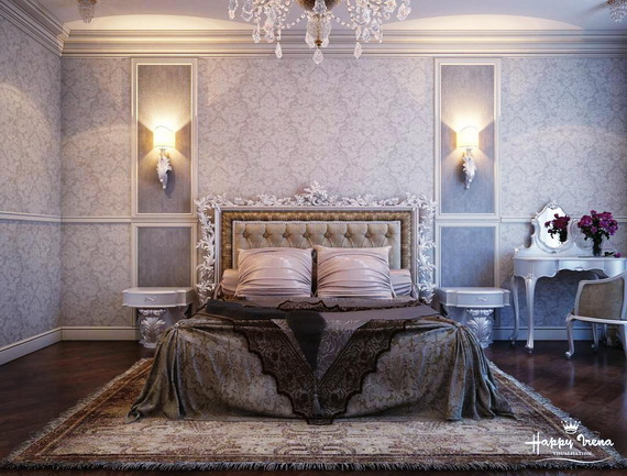 Elegant Bedroom design Ideas With A Lovely Color Scheme _37