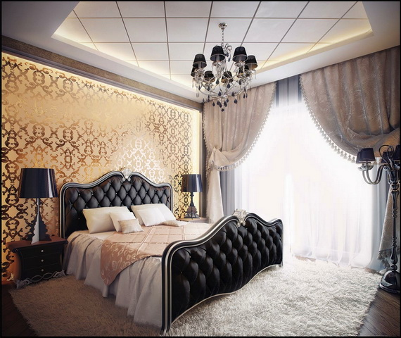 Elegant Bedroom design Ideas With A Lovely Color Scheme _39