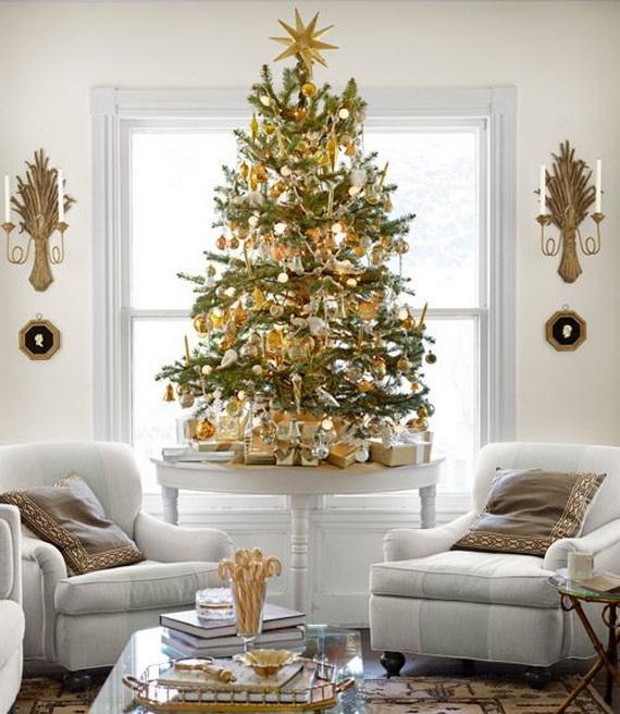 Elegant Christmas Country Living Room Decor Ideas_06