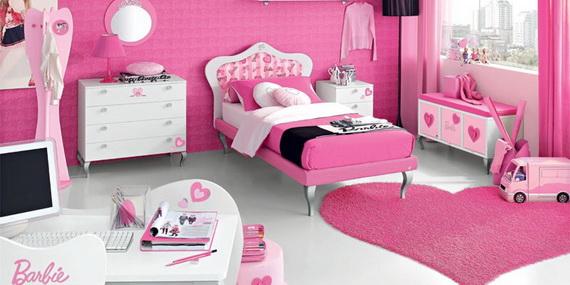 Heart Themed Interior Decor Kids Room Ideas_20