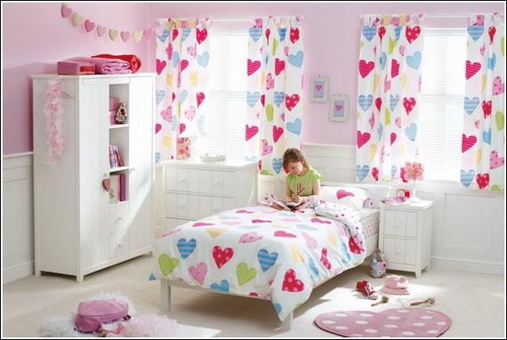 Heart Themed Interior Decor Kids Room Ideas_24
