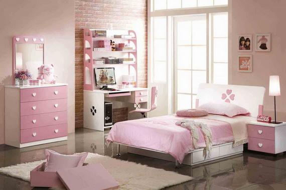Heart Themed Interior Decor Kids Room Ideas_31
