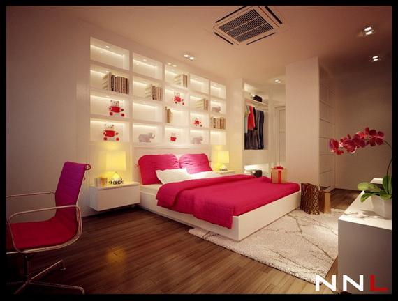 Inspire2014 Pink Bedroom  (2)