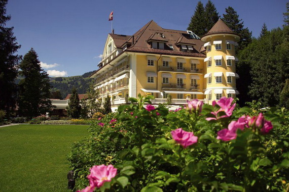 five star hotel in the Center of Gstaad  Le Grand Bellevue