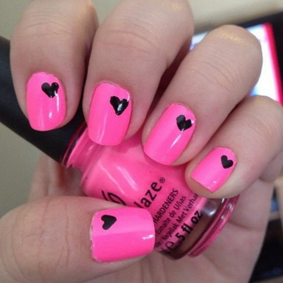 70 Lovely Valentine's Day Inspired Nail Art Ideas_01