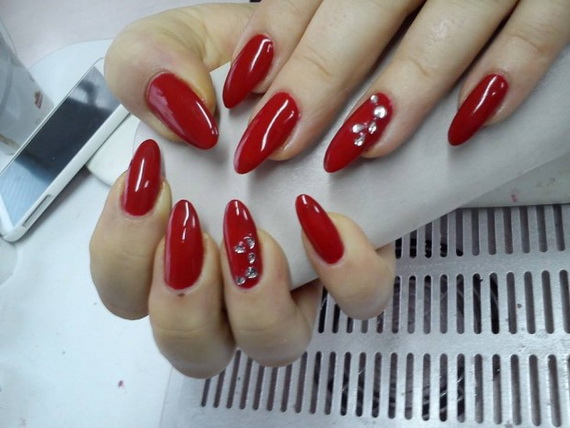 70 Lovely Valentine's Day Inspired Nail Art Ideas_07