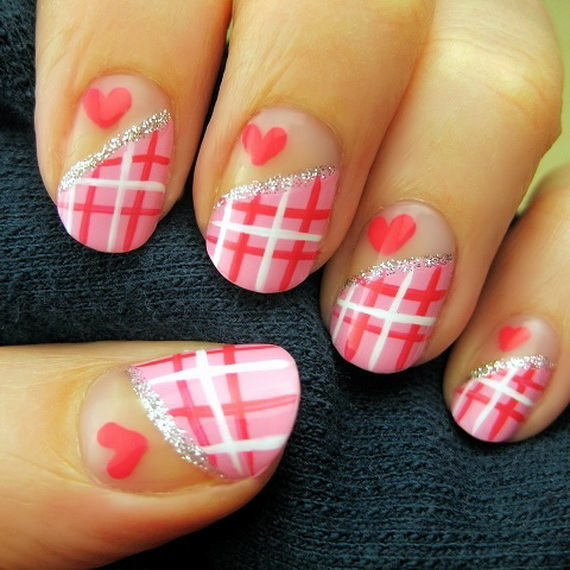 70 Lovely Valentine's Day Inspired Nail Art Ideas_08