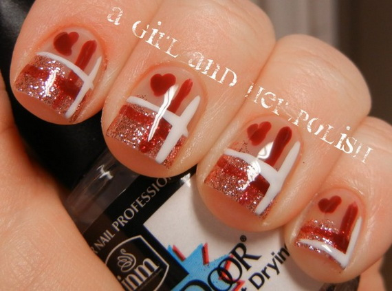 70 Lovely Valentine's Day Inspired Nail Art Ideas_29