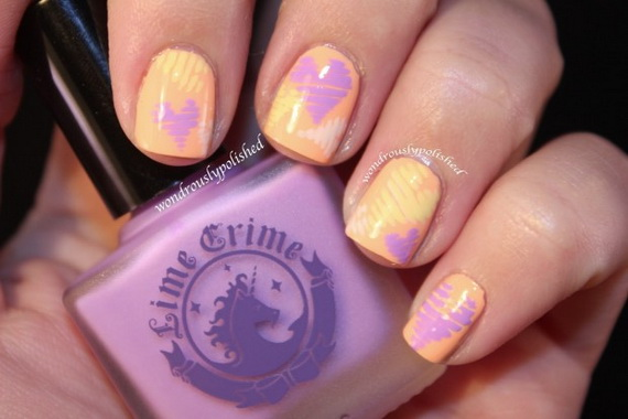 70 Lovely Valentine's Day Inspired Nail Art Ideas_33