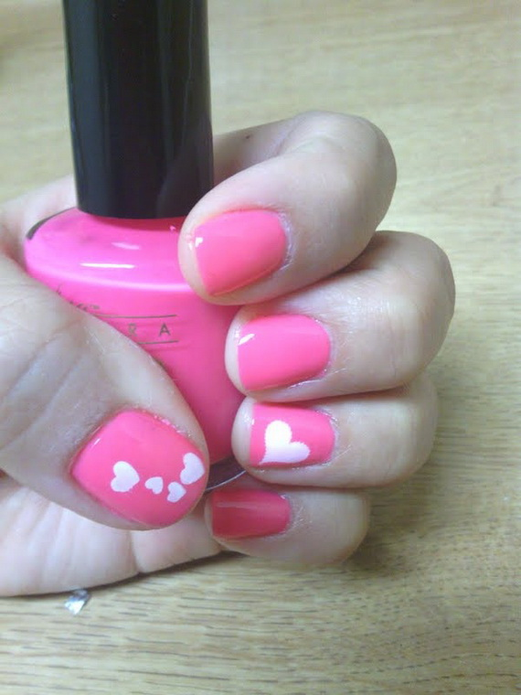 70 Lovely Valentine's Day Inspired Nail Art Ideas_34