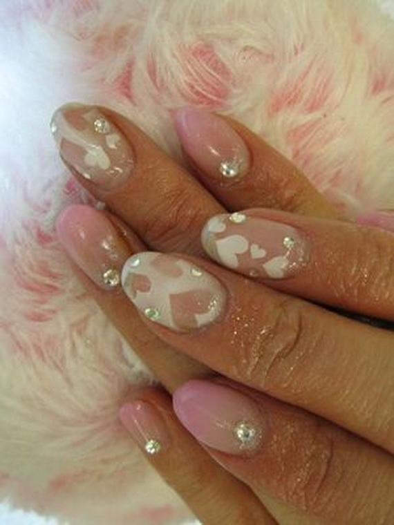 70 Lovely Valentine's Day Inspired Nail Art Ideas_54