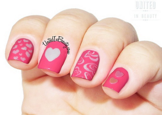 70 Lovely Valentine's Day Inspired Nail Art Ideas_57