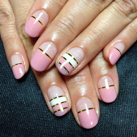 70 Lovely Valentine's Day Inspired Nail Art Ideas_70