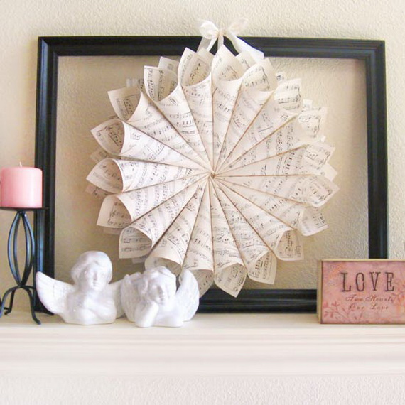 Cool Valentine's Day Mantel Décor Ideas_06