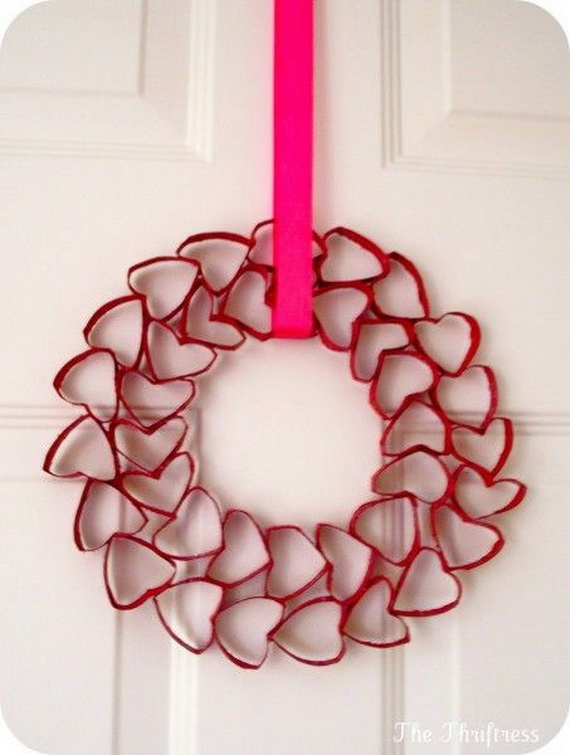Cool Valentine's Day Wreath Ideas for 2014_01