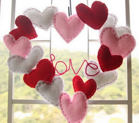 Cool Valentine's Day Wreath Ideas for 2014_06