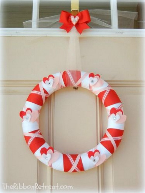 Cool Valentine's Day Wreath Ideas for 2014_18