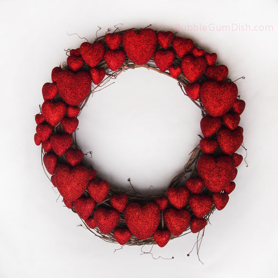 Cool Valentine's Day Wreath Ideas for 2014_26
