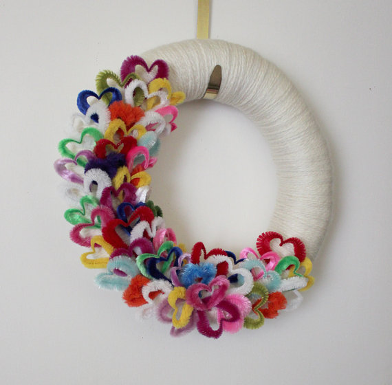 Cool Valentine's Day Wreath Ideas for 2014_30
