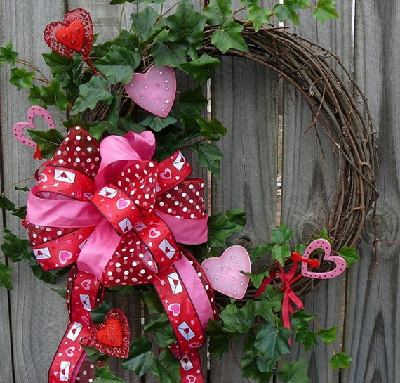 Cool Valentine's Day Wreath Ideas for 2014_41