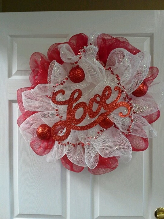 Cool Valentine's Day Wreath Ideas for 2014_43