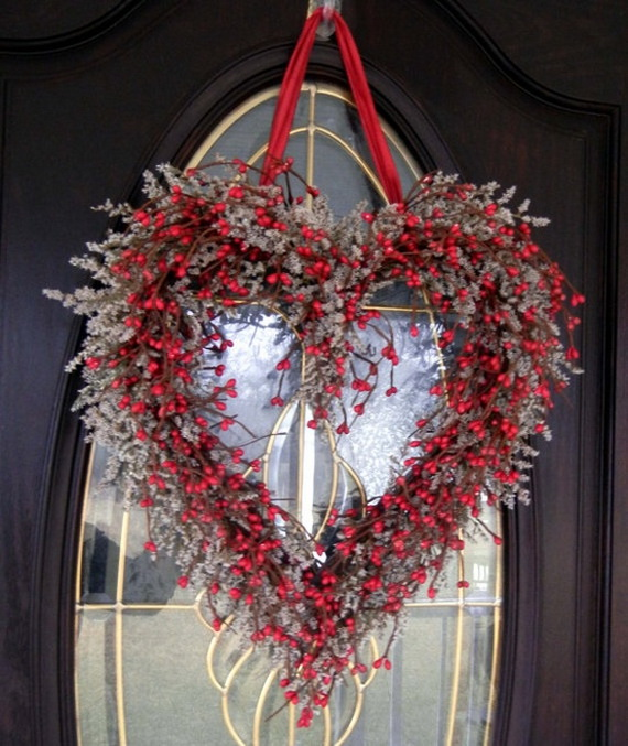 Cool Valentine's Day Wreath Ideas for 2014_45