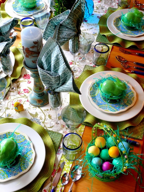 Creative Easter Centerpiece Ideas For Any Taste_08