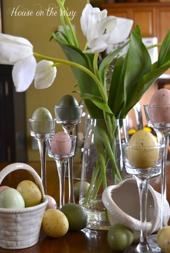 Creative Easter Centerpiece Ideas For Any Taste_22