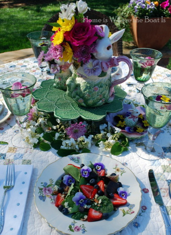 Creative Easter Centerpiece Ideas For Any Taste_48