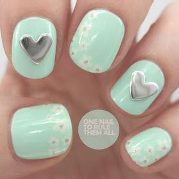 Creative Nail Art Designs for Valentine's Day 2014__19
