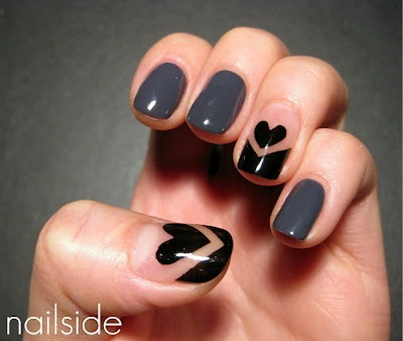 Creative Nail Art Designs for Valentine's Day 2014__32