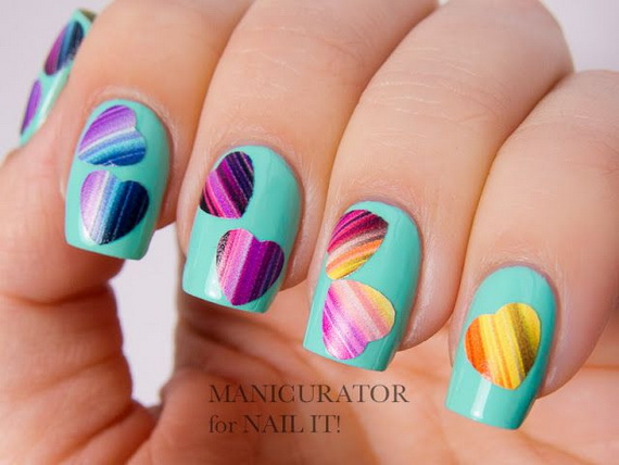 Creative Nail Art Designs for Valentine's Day 2014__33