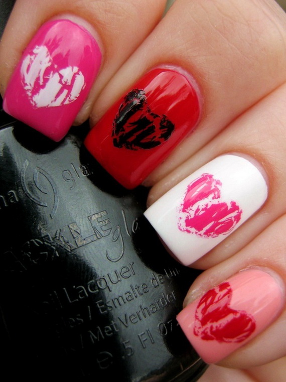Creative Nail Art Designs for Valentine's Day 2014__39