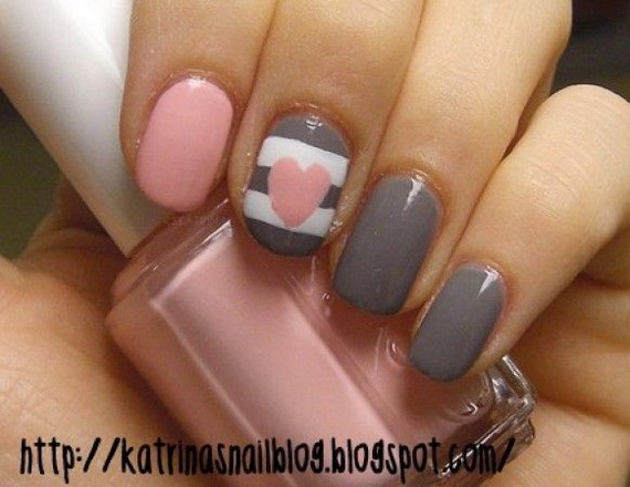Creative Nail Art Designs for Valentine's Day 2014__40