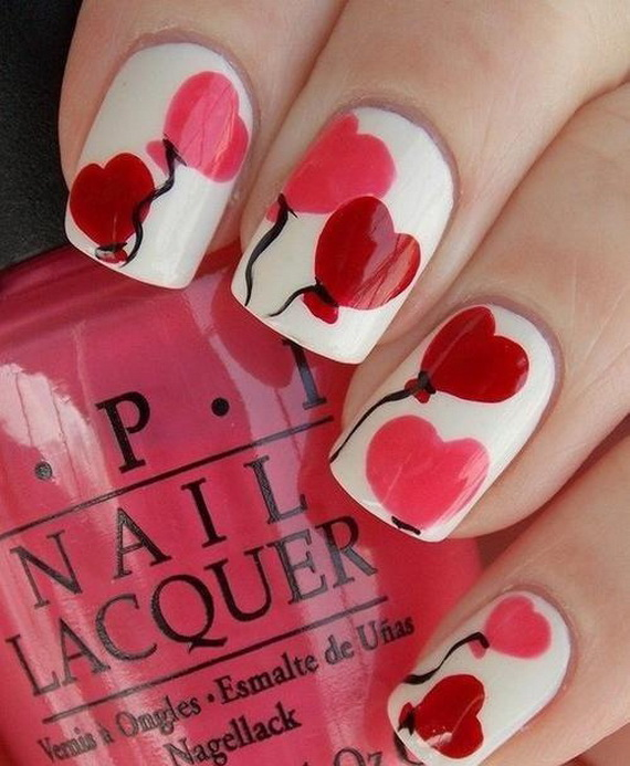 Creative Nail Art Designs for Valentine's Day 2014__44