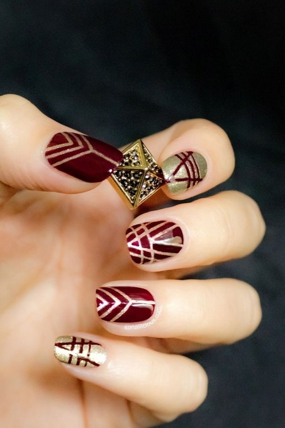 Creative Nail Art Designs for Valentine's Day 2014__54
