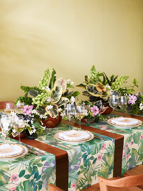 Creative Table Arrangements For A Welcoming Holiday _05