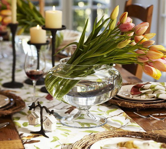Creative Table Arrangements For A Welcoming Holiday _10