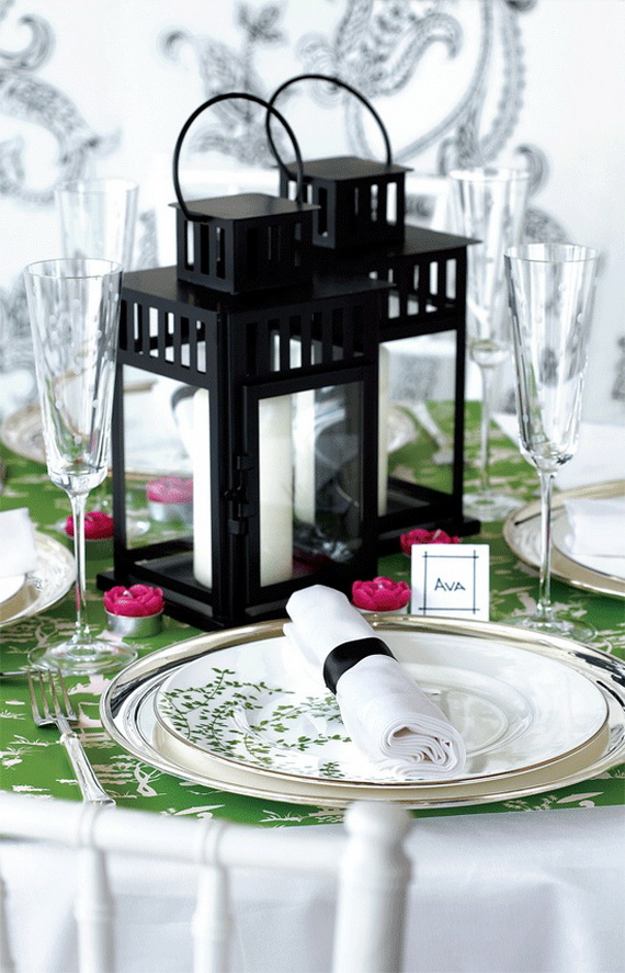 Creative Table Arrangements For A Welcoming Holiday _20