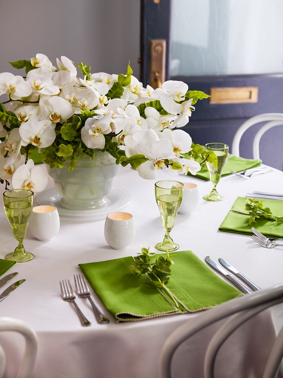 Creative Table Arrangements For A Welcoming Holiday _61