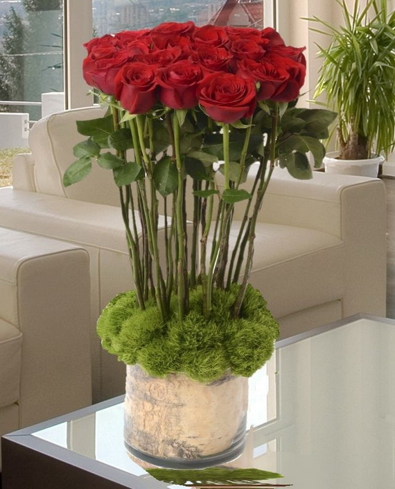 Flower Decoration Ideas For Valentine's Day_66