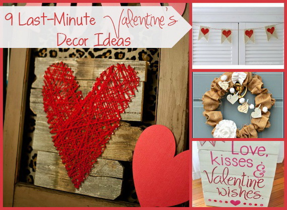 Handmade Valentine's Day Décor Ideas And Gifts_13