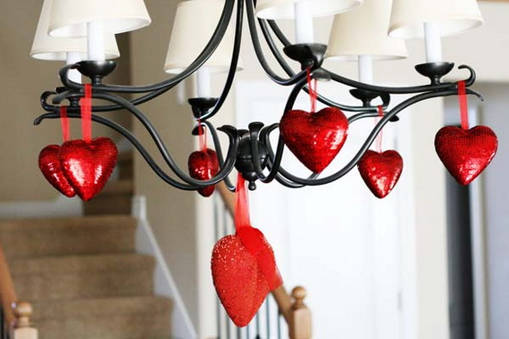 Hearts decorations-Homemade gift ideas Valentine's Day _24
