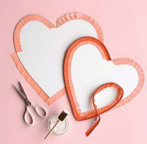 Hearts decorations-Homemade gift ideas Valentine's Day _32