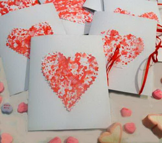 Hearts decorations-Homemade gift ideas Valentine's Day _42
