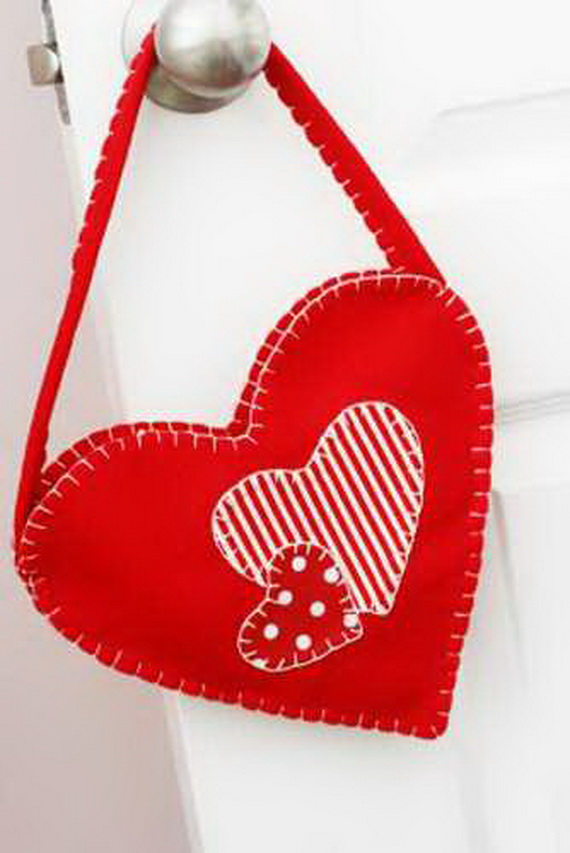 Hearts decorations-Homemade gift ideas Valentine's Day _44
