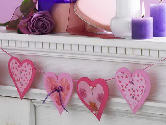 Hearts decorations-Homemade gift ideas Valentine's Day _45