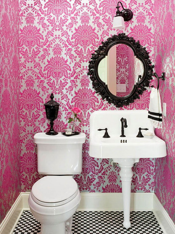Pink Room Décor Ideas for Valentine's Day _26