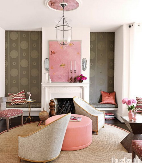Pink Room Décor Ideas for Valentine's Day _28