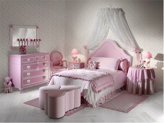 Pink Room Décor Ideas for Valentine's Day _34